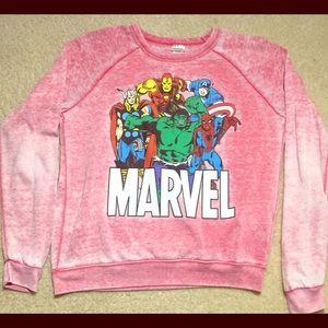Marvel Superhero Sweatshirt